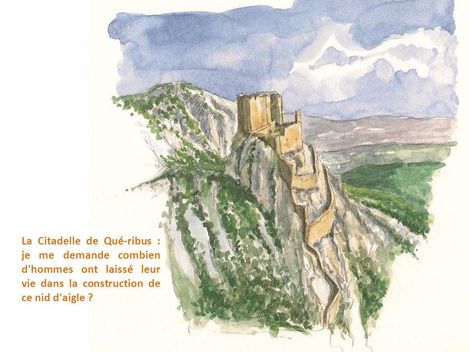 Abbaye Sainte-Maire-d'Orbieu : le dortoir des moines du XIII° siècle, et la tour Fortifiée du XVI° siècle.