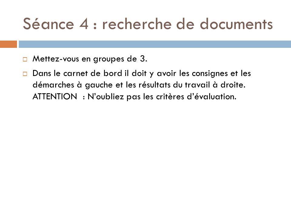 SEANCE 5 : PRODUCTION  Observez la grille d'évaluation de l'argumentation.