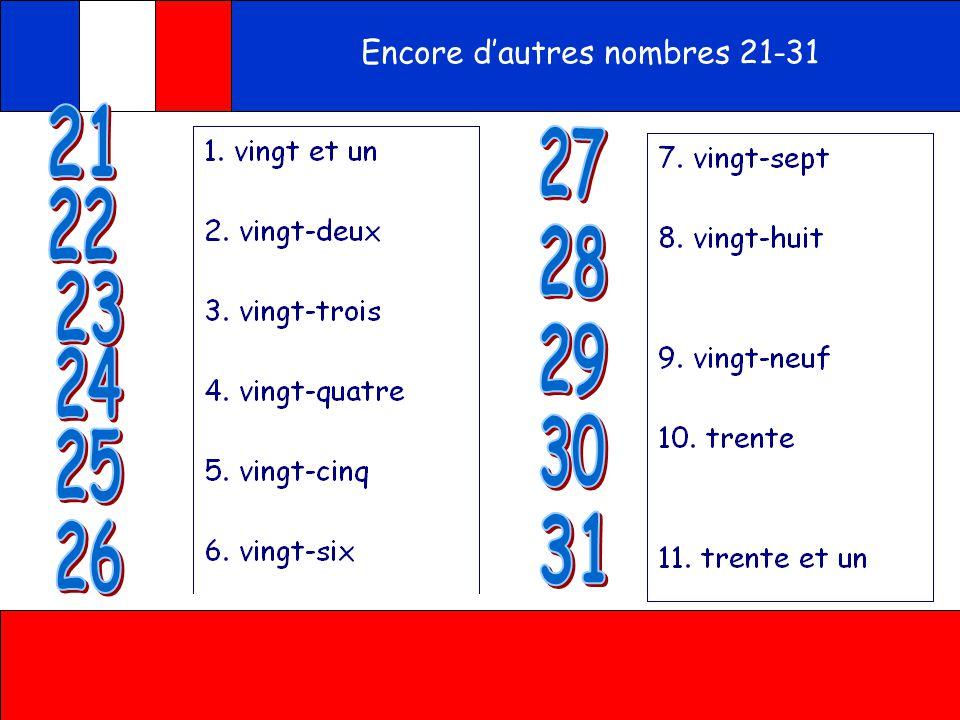 Ecoute Ecris les nombres en français