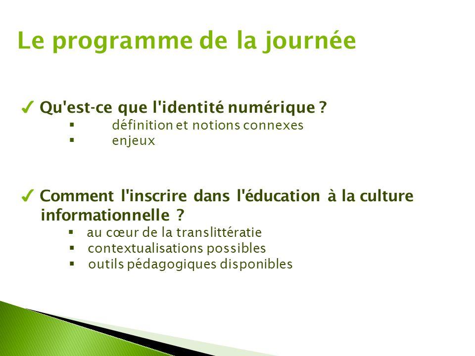 ✔ Comment l'inscrire dans l'éducation à la culture informationnelle ?  au cœur de la translittératie  contextualisations possibles  outils pédagogi