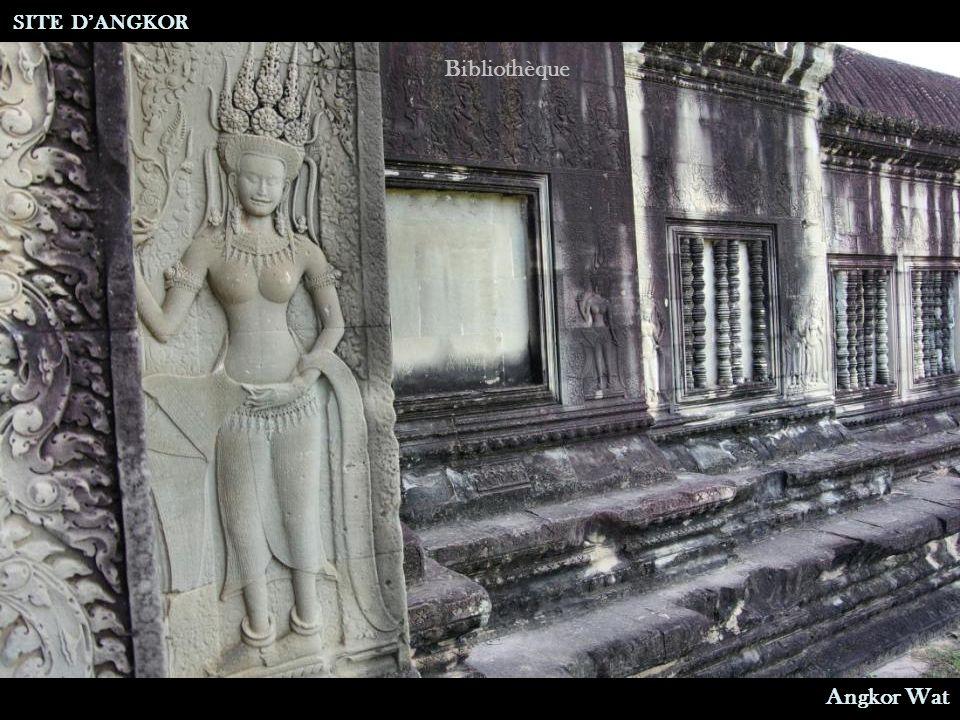 Bibliothèque SITE D'ANGKOR Angkor Wat
