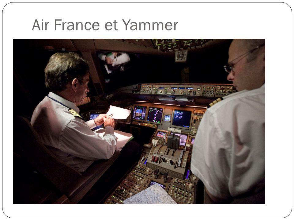 Air France et Yammer