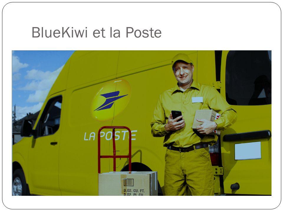 BlueKiwi et la Poste
