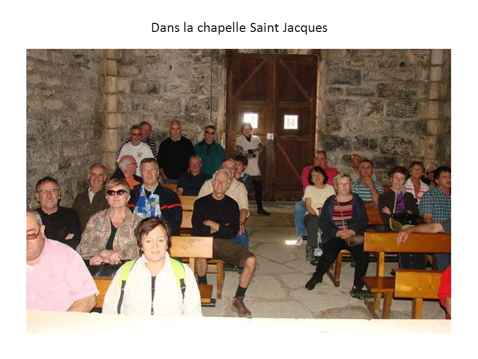 Dans la chapelle Saint Jacques