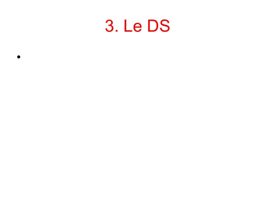3. Le DS