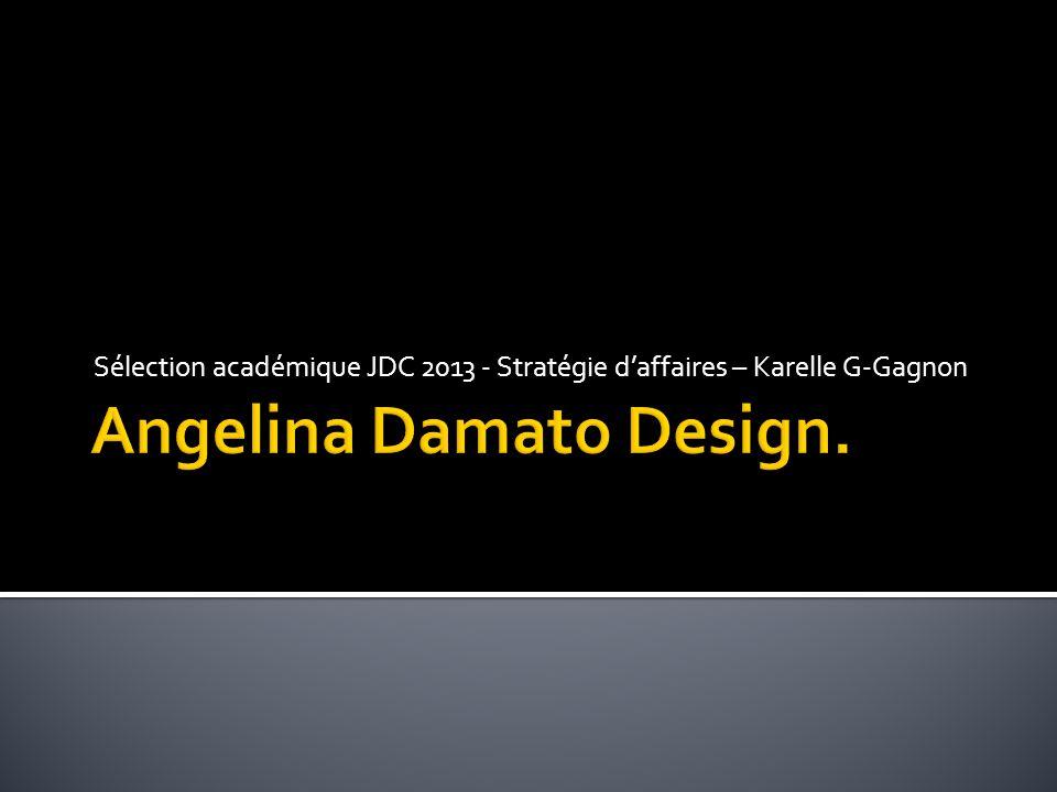 Sélection académique JDC 2013 - Stratégie d'affaires – Karelle G-Gagnon