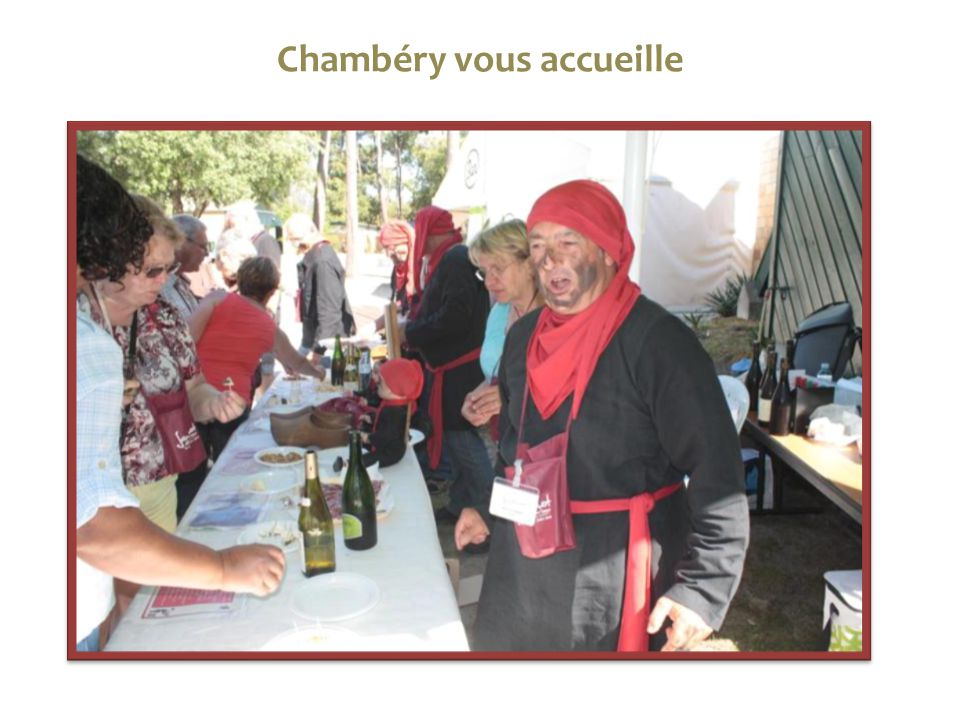 Chambéry vous accueille