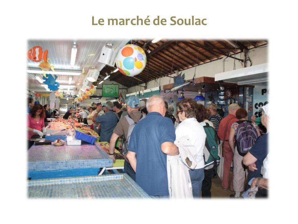 Le marché de Soulac
