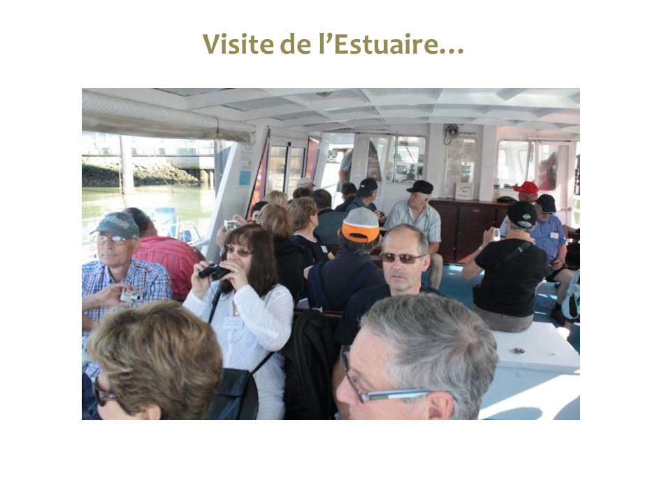 Visite de l'Estuaire…