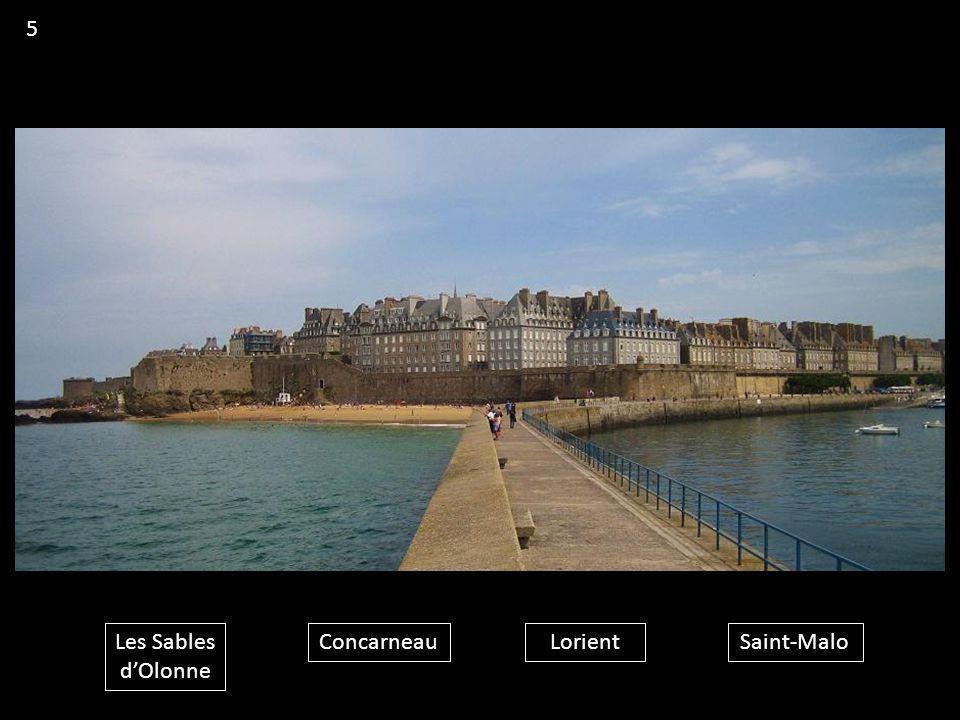 Les Sables d'Olonne ConcarneauLorientSaint-Malo 5