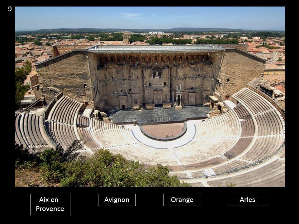 Aix-en- Provence AvignonOrangeArles 9