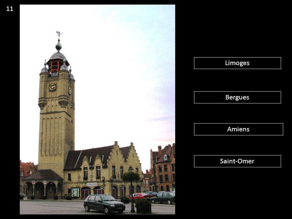 Limoges Bergues Amiens Saint-Omer 11