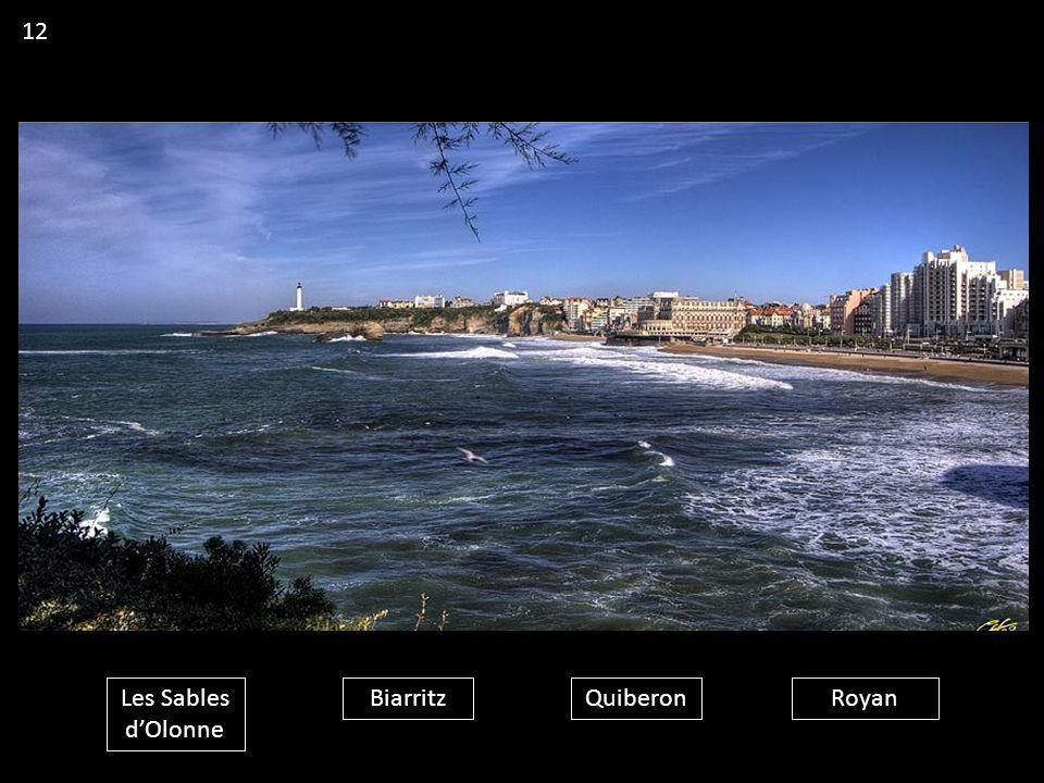 Les Sables d'Olonne BiarritzQuiberonRoyan 12