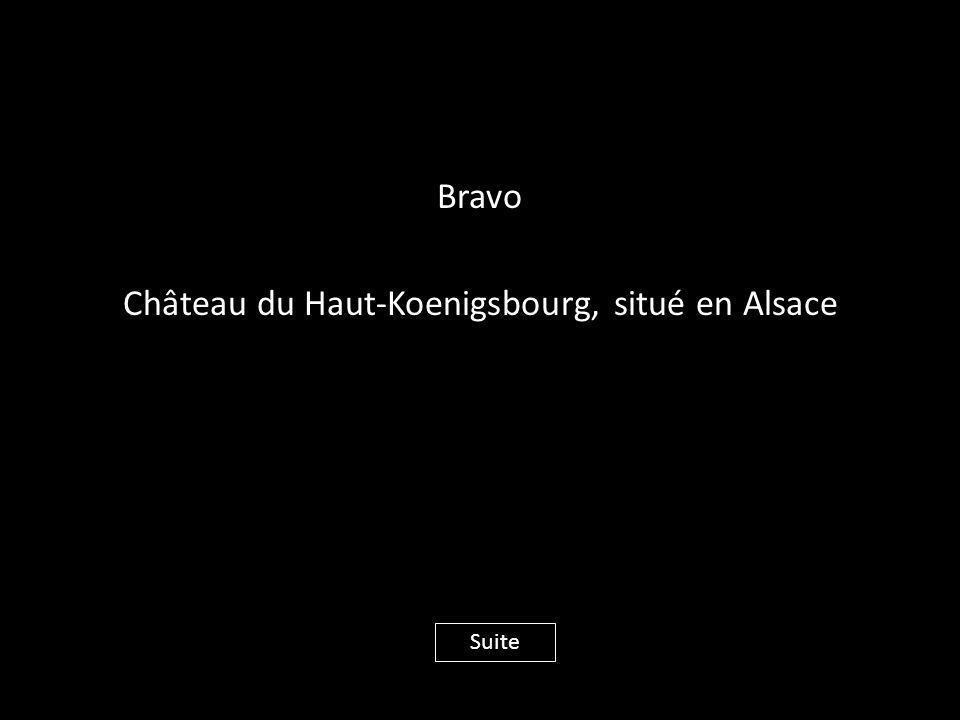 Bravo Château du Haut-Koenigsbourg, situé en Alsace Suite