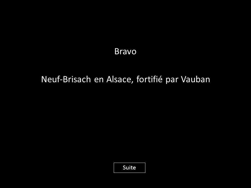 Bravo Neuf-Brisach en Alsace, fortifié par Vauban Suite