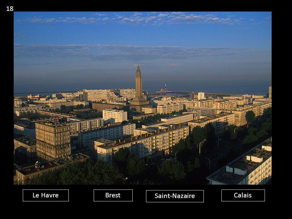 Le HavreBrest Saint-Nazaire Calais 18