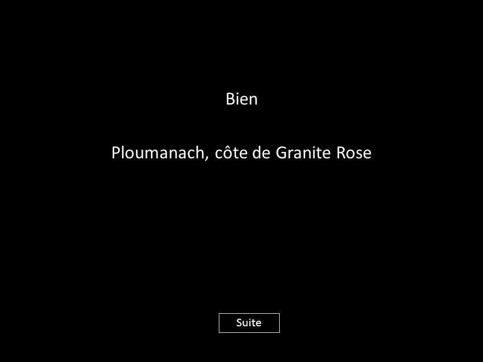 Bien Ploumanach, côte de Granite Rose Suite