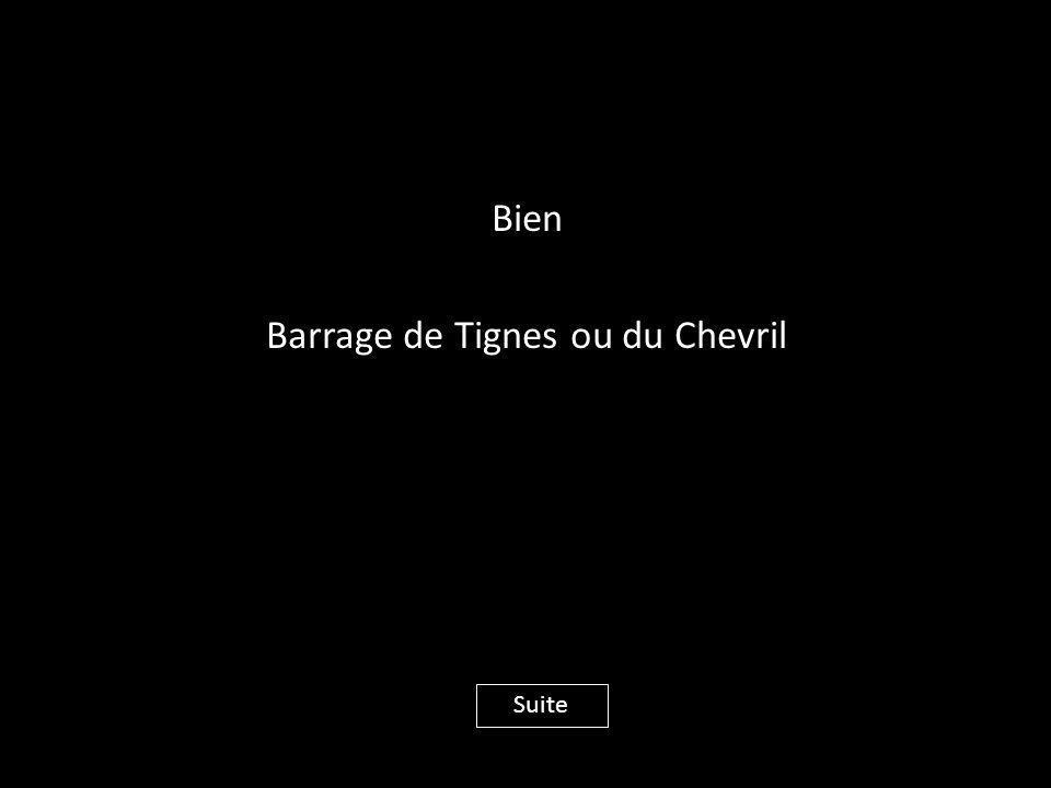 Bien Barrage de Tignes ou du Chevril Suite