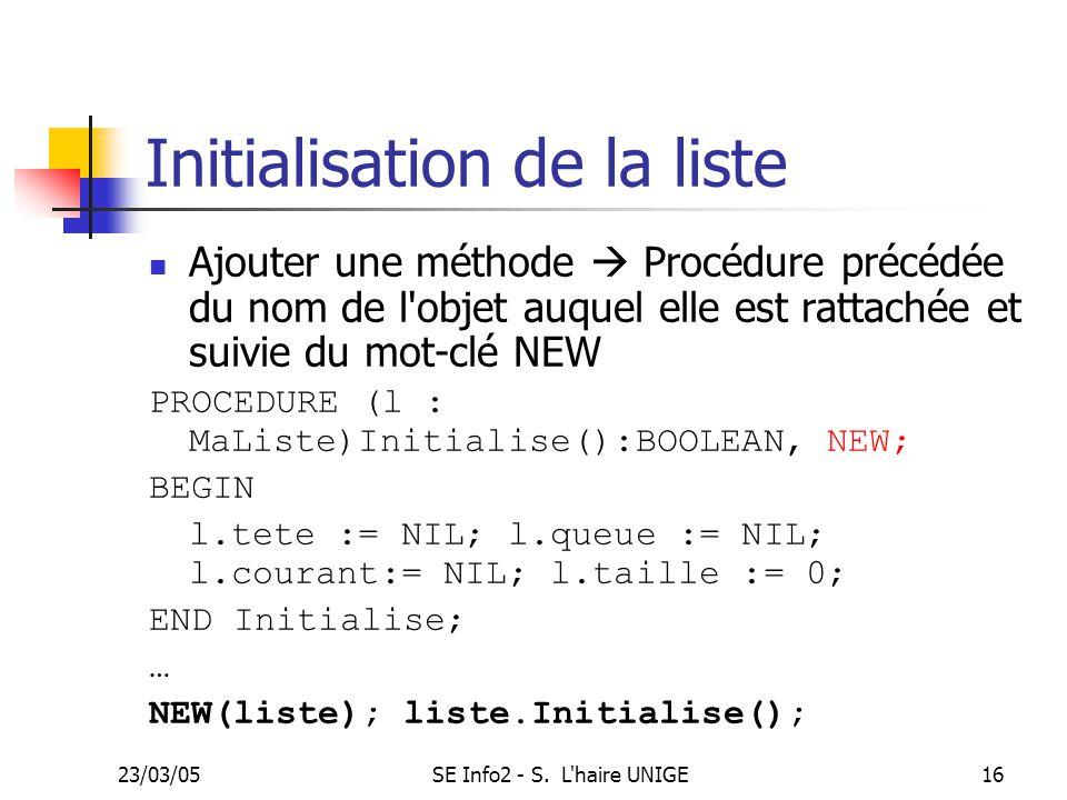 23/03/05SE Info2 - S.