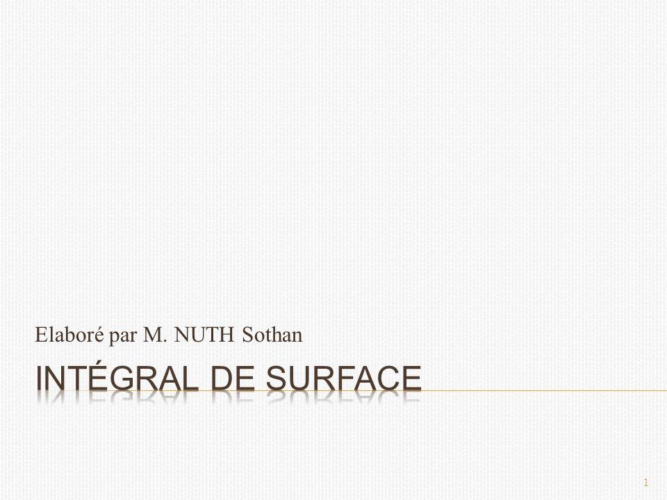 Elaboré par M. NUTH Sothan 1