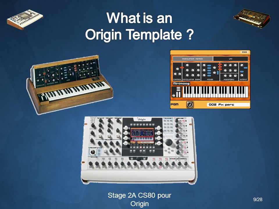 Stage 2A CS80 pour Origin Original & CS80V Origin template 10/28