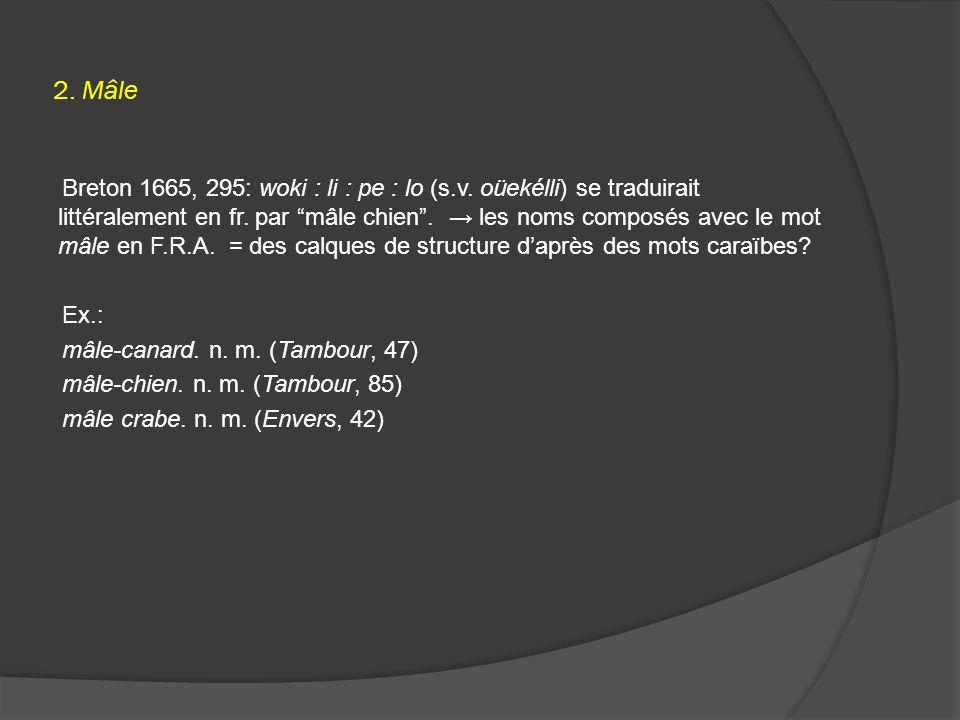 2. Mâle Breton 1665, 295: woki : li : pe : lo (s.v.