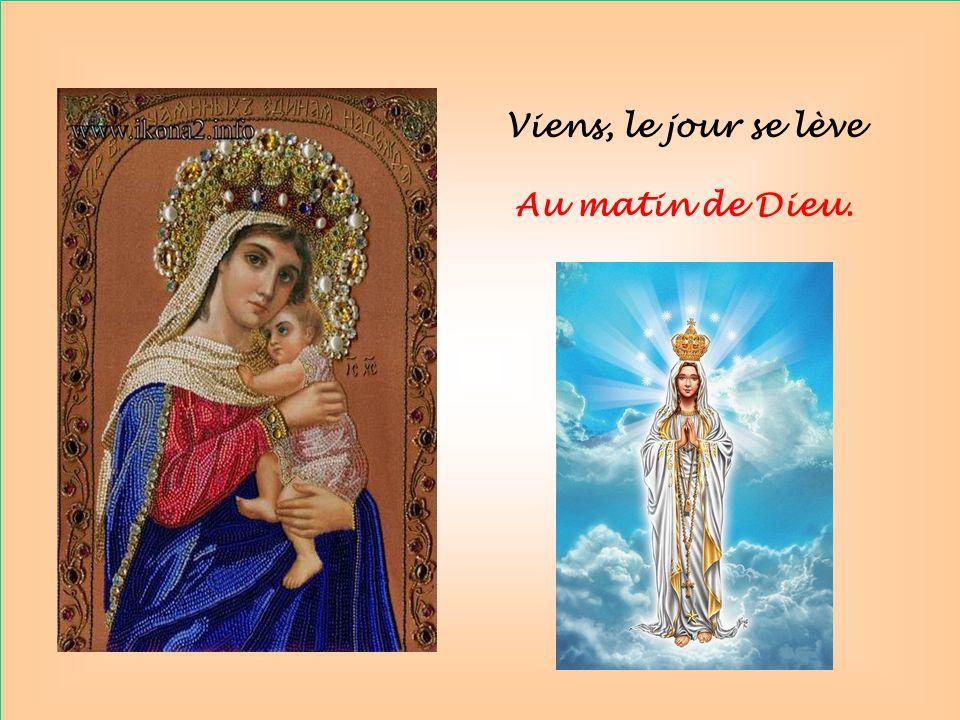Tu es toute belle, Sainte Mère de Dieu.