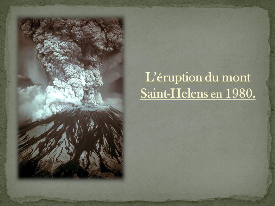 Le mont Saint-Helens est l'un des principaux volcans actifs de l'ouest des Etats-Unis.