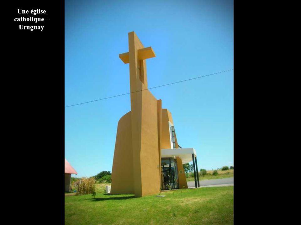Une église catholique – Uruguay