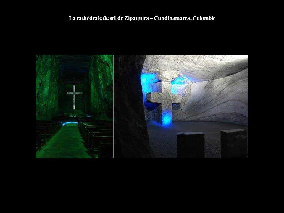 La cathédrale de sel de Zipaquira – Cundinamarca, Colombie