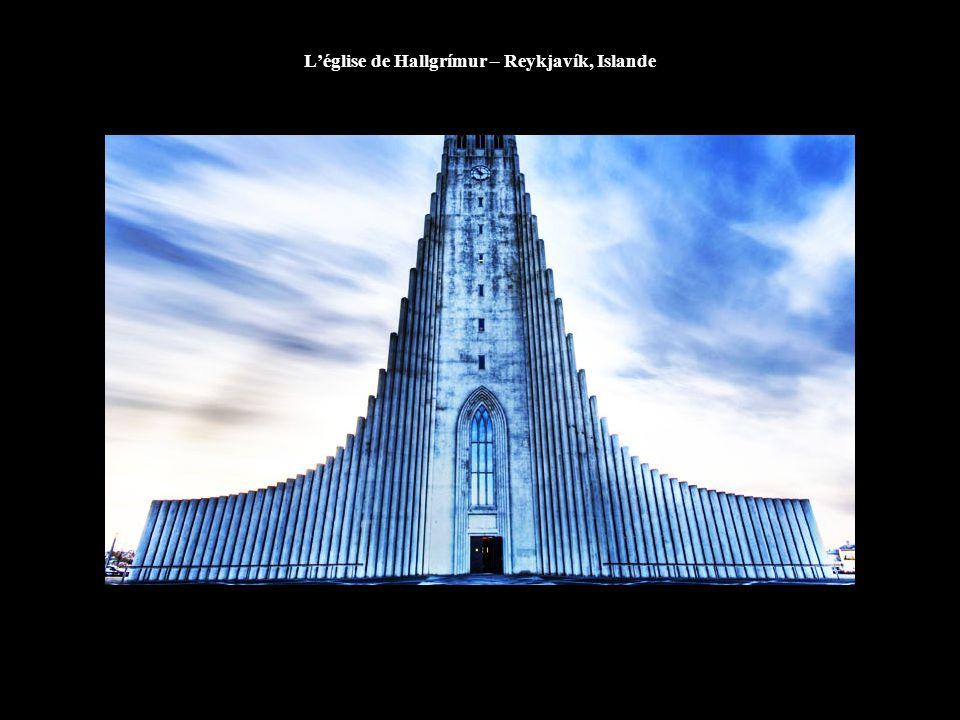 L'église de Hallgrímur – Reykjavík, Islande