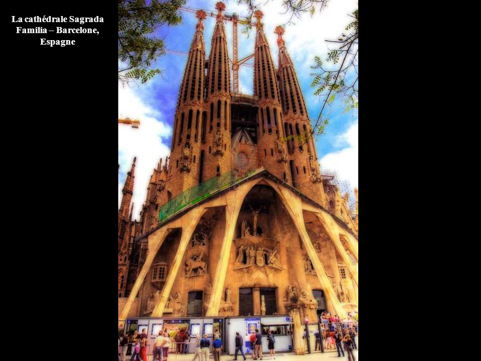 La cathédrale Sagrada Familia – Barcelone, Espagne