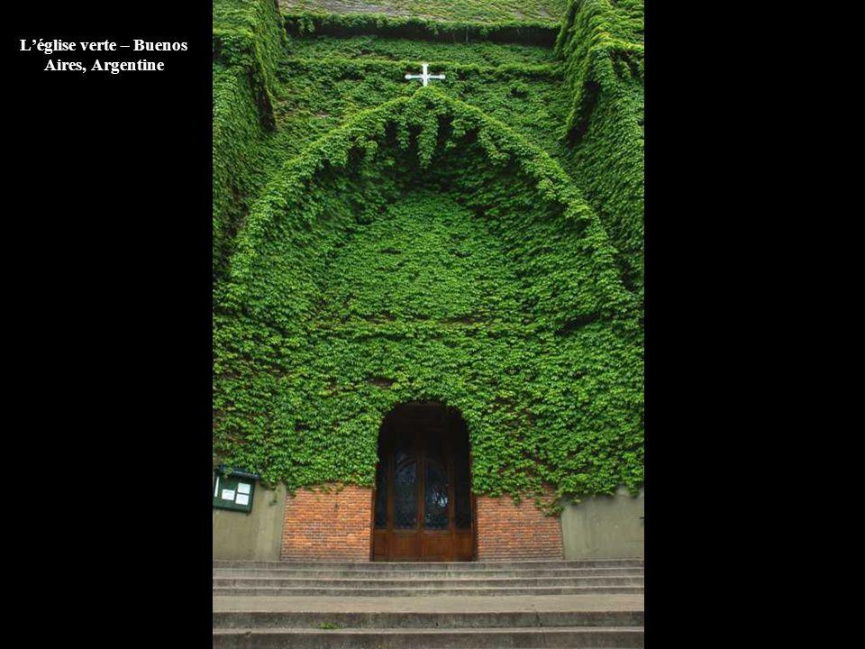 L'église verte – Buenos Aires, Argentine