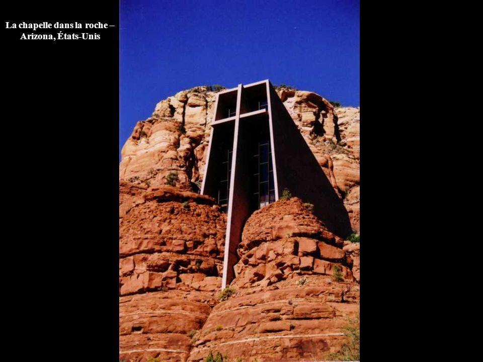La chapelle dans la roche – Arizona, États-Unis