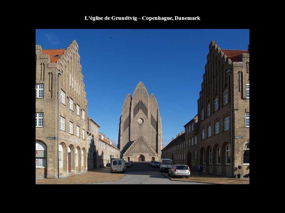 L'église de Grundtvig – Copenhague, Danemark