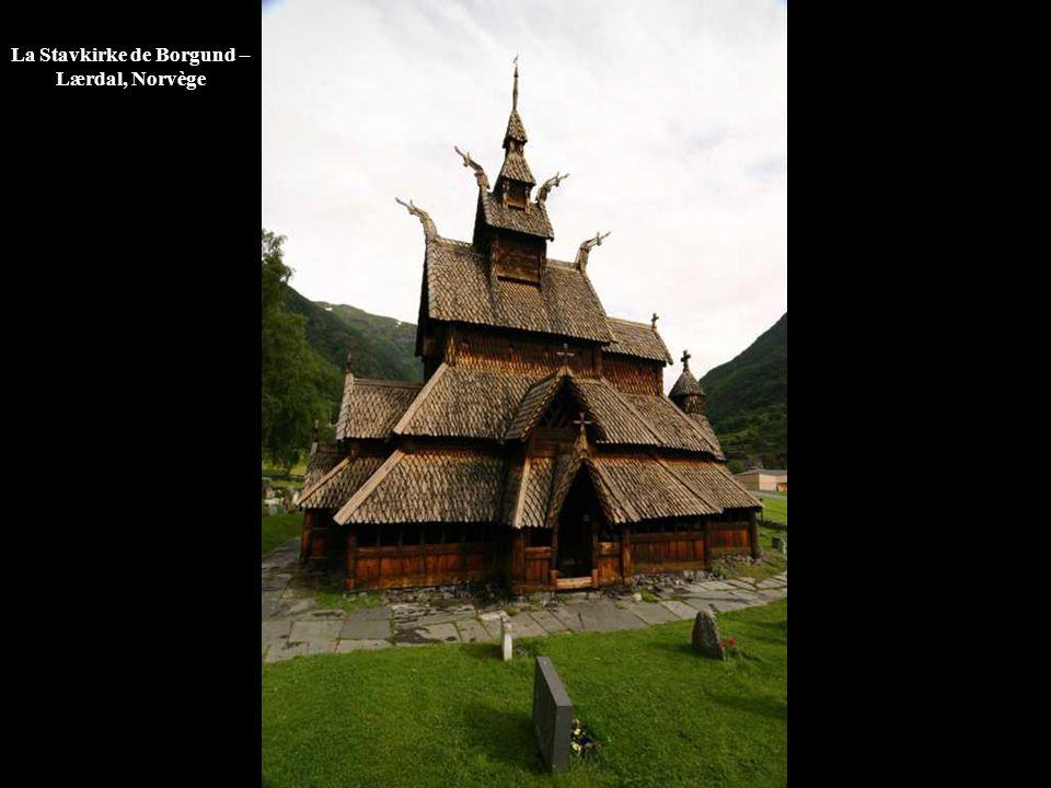 La Stavkirke de Borgund – Lærdal, Norvège