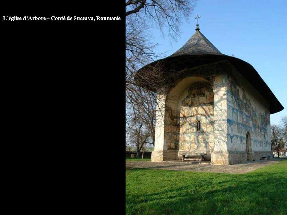 L'église d'Arbore – Conté de Suceava, Roumanie