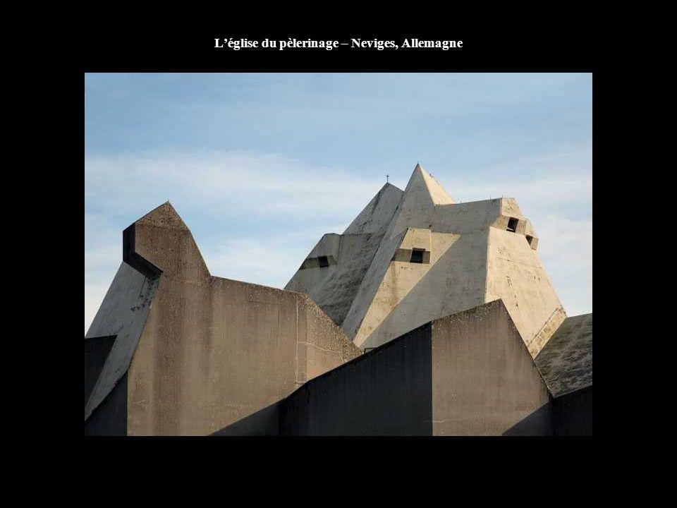 L'église du pèlerinage – Neviges, Allemagne