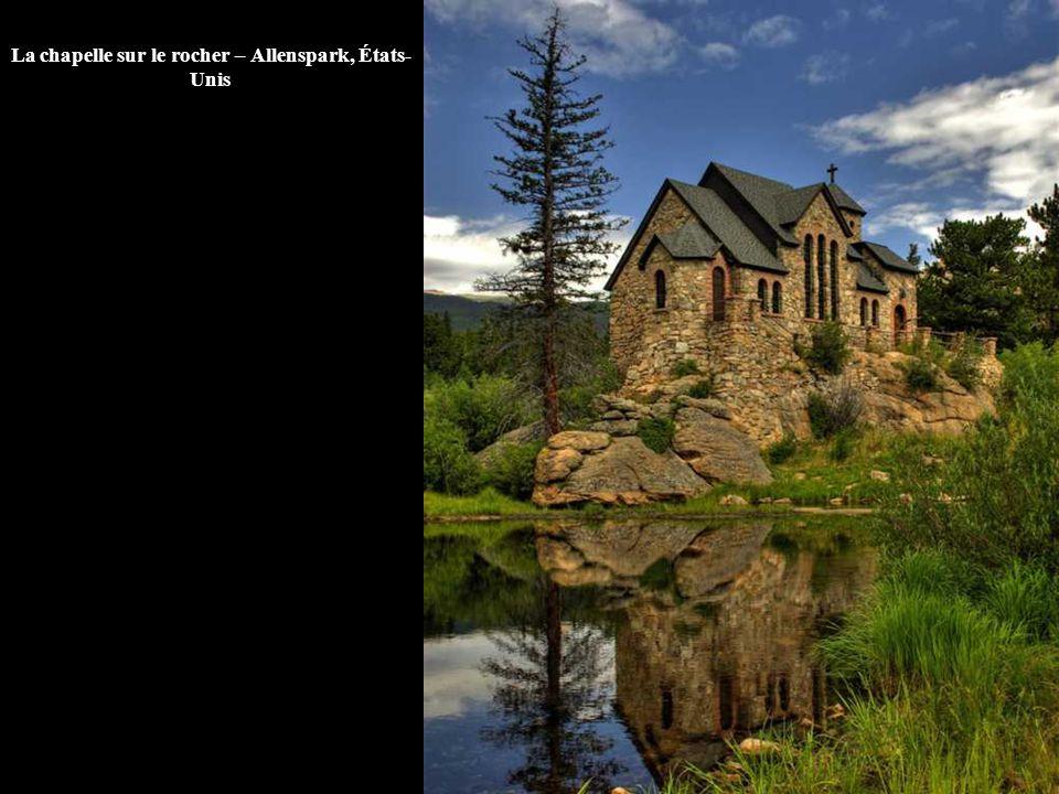 La chapelle sur le rocher – Allenspark, États- Unis