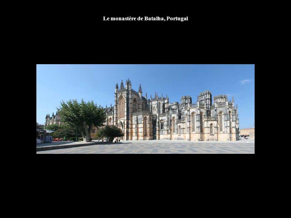 Le monastère de Batalha, Portugal