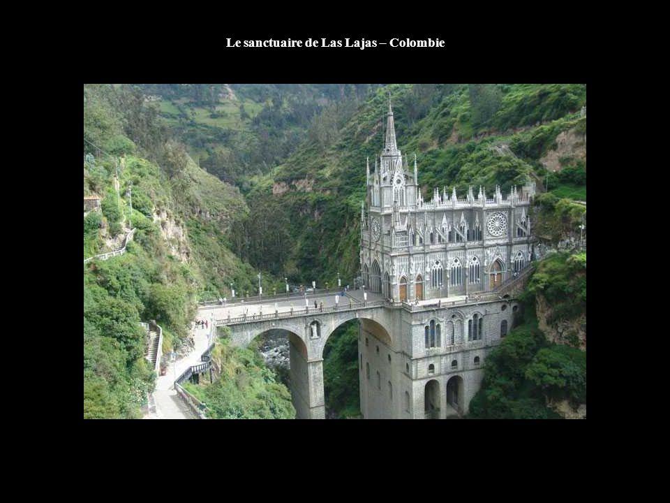 Le sanctuaire de Las Lajas – Colombie