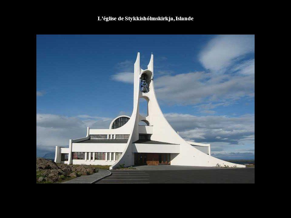L'église de Stykkishólmskirkja, Islande