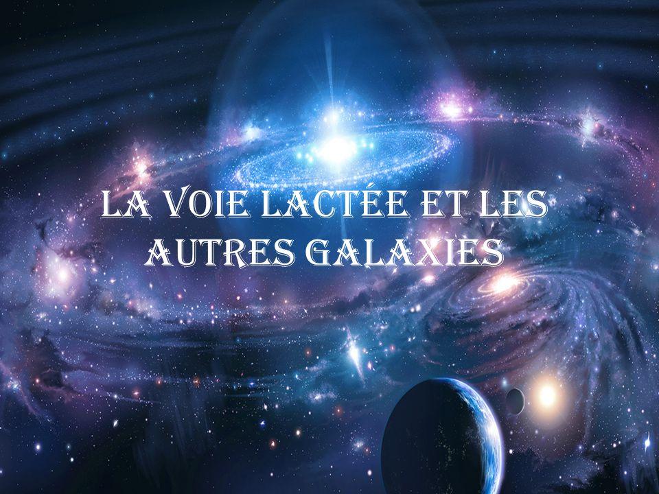 La voie lactée et les autres galaxies