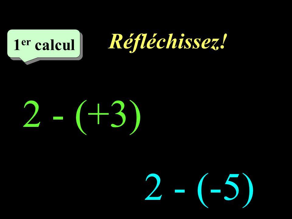 Réfléchissez! 6 eme calcul 6 eme calcul 6 eme calcul (-6) - (-9) 6 - (-2)