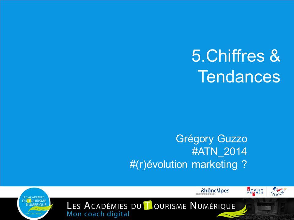 5.Chiffres & Tendances Grégory Guzzo #ATN_2014 #(r)évolution marketing ?