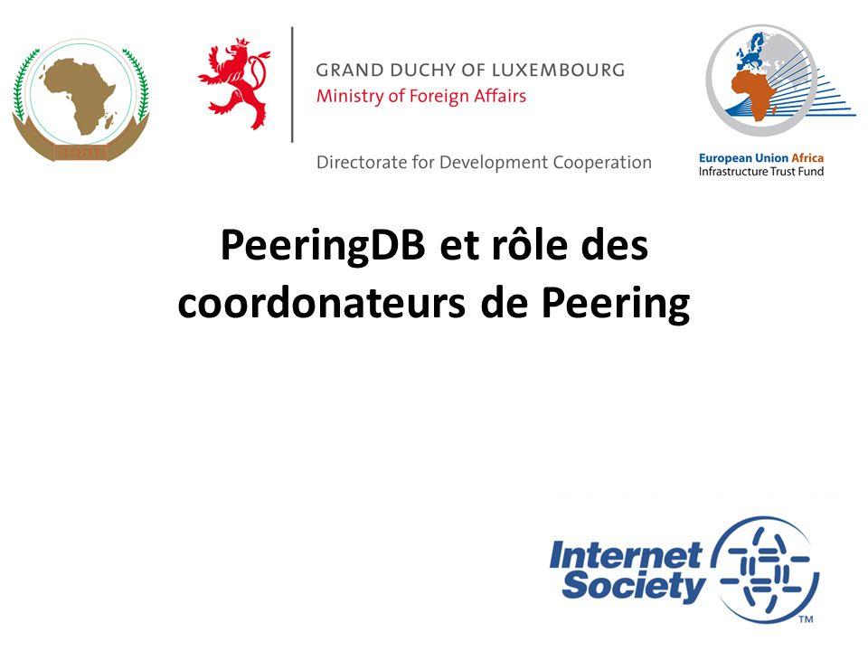 Informations réseaux de peeringDB..