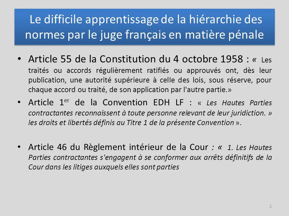 L'assistance immédiate de l'avocat en garde à vue est désormais incontournable (VI) Arrêt MOULIN c/ FRANCE (CEDH, 5e sect., 23 novembre 2010, n°37104/066) La requérante arrêtée le 13 avril 2005, a été présentée au procureur adjoint le 15 avril puis aux juges d'instruction le 18 avril.