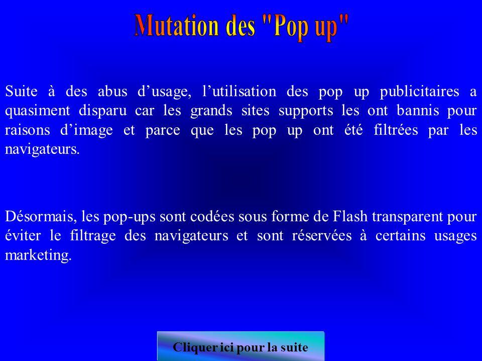 Une pop-up est une petite fenêtre qui s'ouvre automatiquement au dessus de la page de destination lorsqu'on accède à une page web.