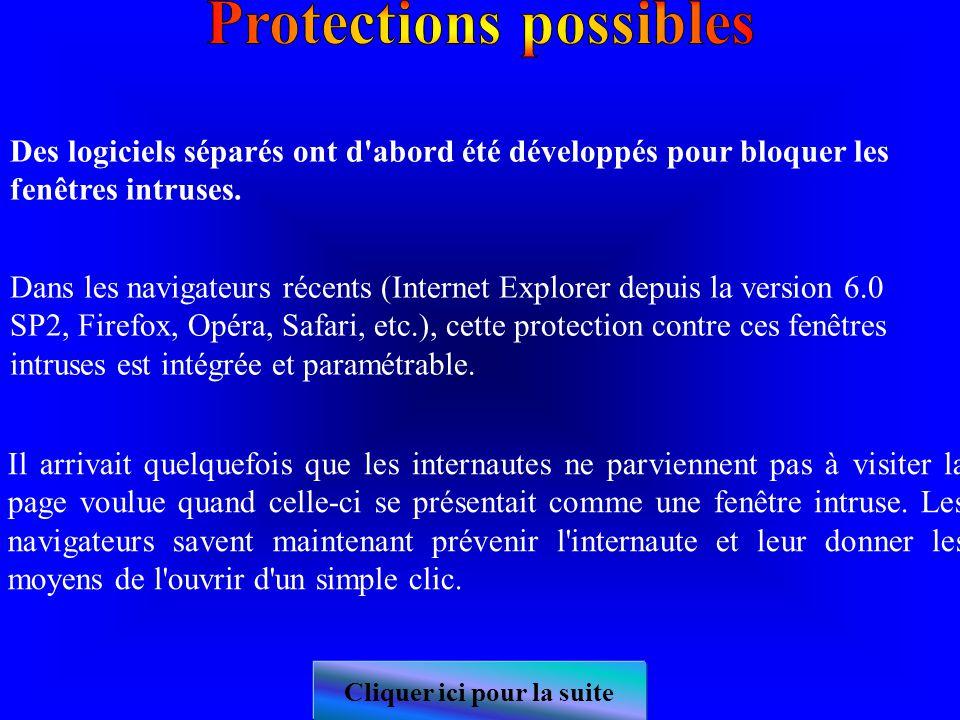 L ouverture d un lien dans une nouvelle fenêtre est problématique pour l accessibilité lorsqu elle ne peut pas être anticipée par l utilisateur.
