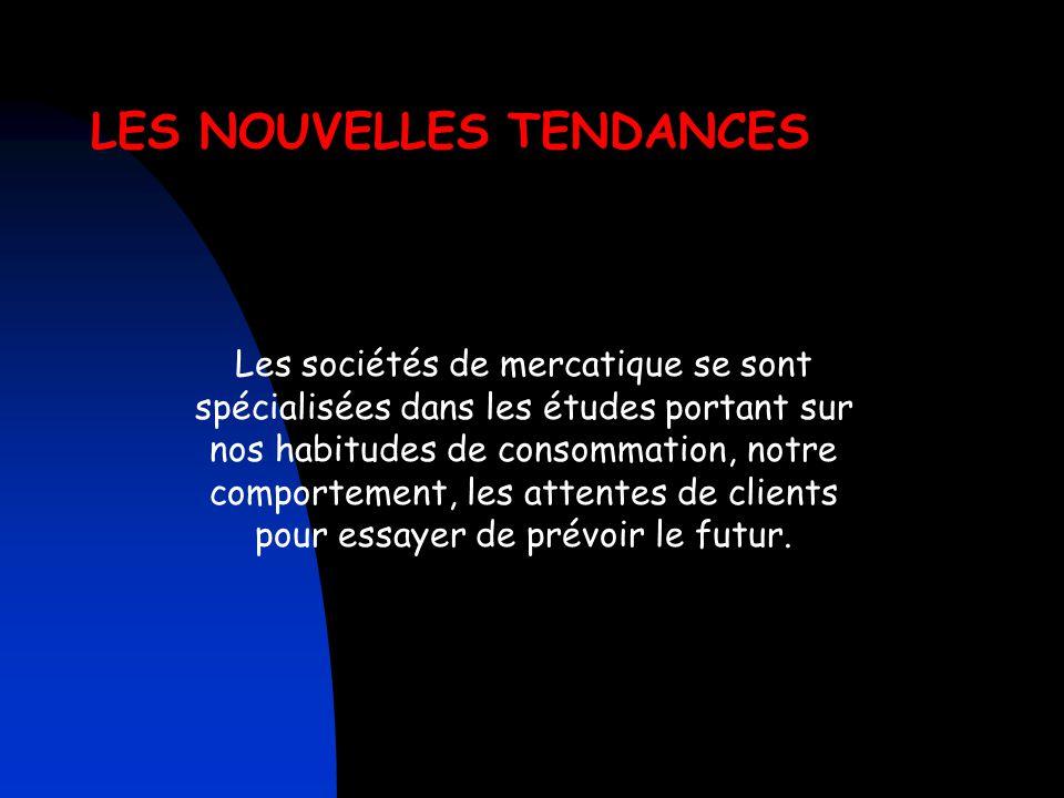 Conclusion De nombreux concepts basés sur les nouveaux comportements des français voient le jour. Le client Français est à la recherche de concept où